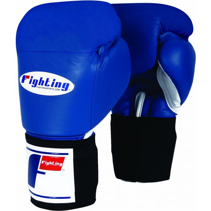 Fighting Sports USA Boxing Competition Gloves - Elastic (Blue)