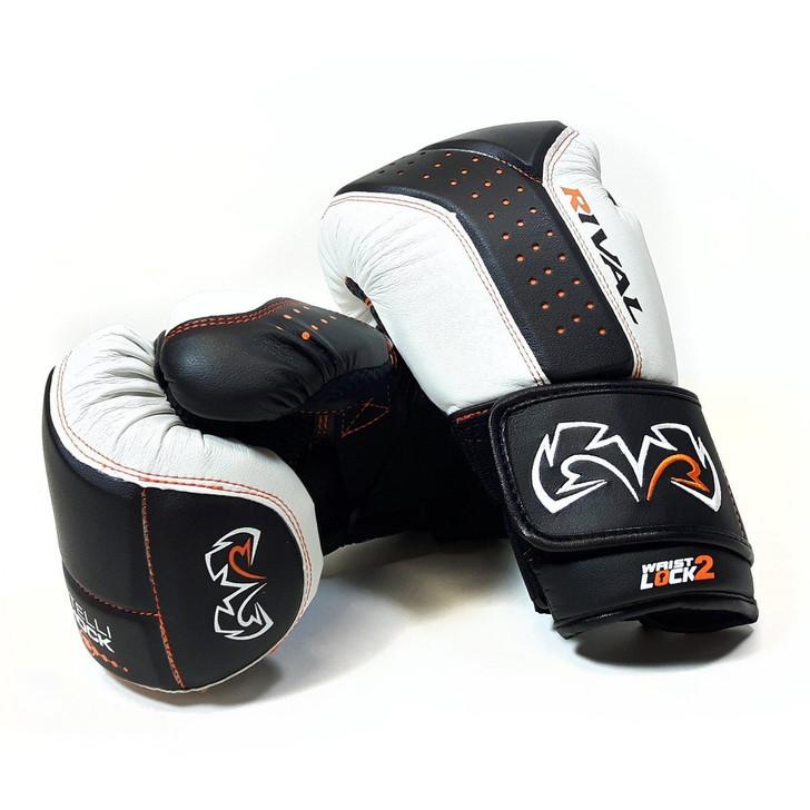 RIVAL RB10-INTELLI-SHOCK Bag Gloves Black/White