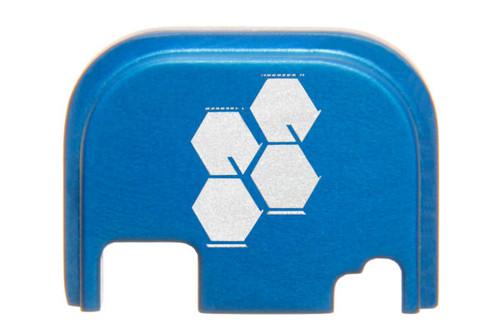 Slide Cover Plate For Glock Gen 3/4 - Hyve Logo Engraved