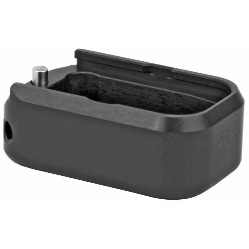 Base Pad, For Glock 17/19/22/23, +3/+4, Small, Black Finish