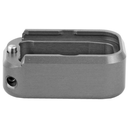 Base Pad, For Glock 17/19/22/23, +3/+4, Small, Grey Finish