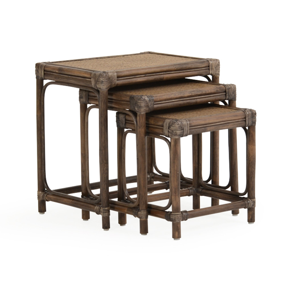 """120-03 22"""" x 16"""" Set of 3 Nested Tables"""