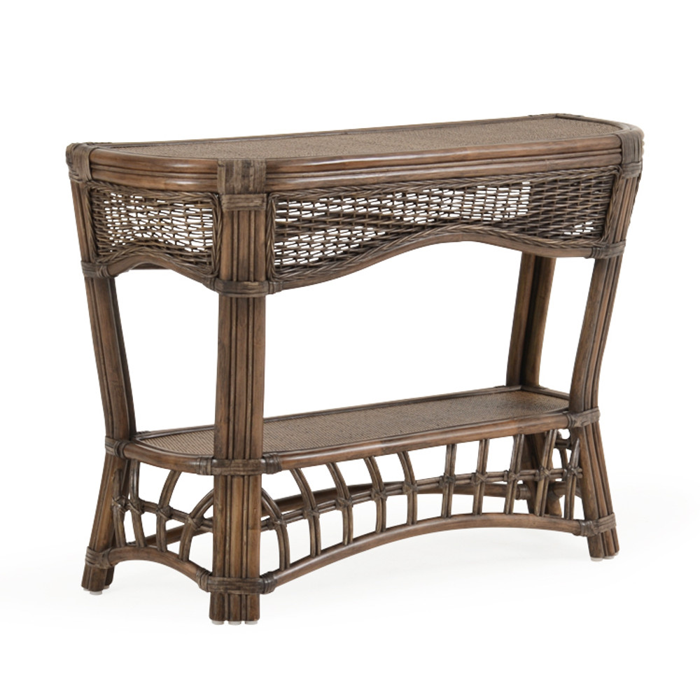 """5514 40"""" x 15.5"""" Curved Console Table"""