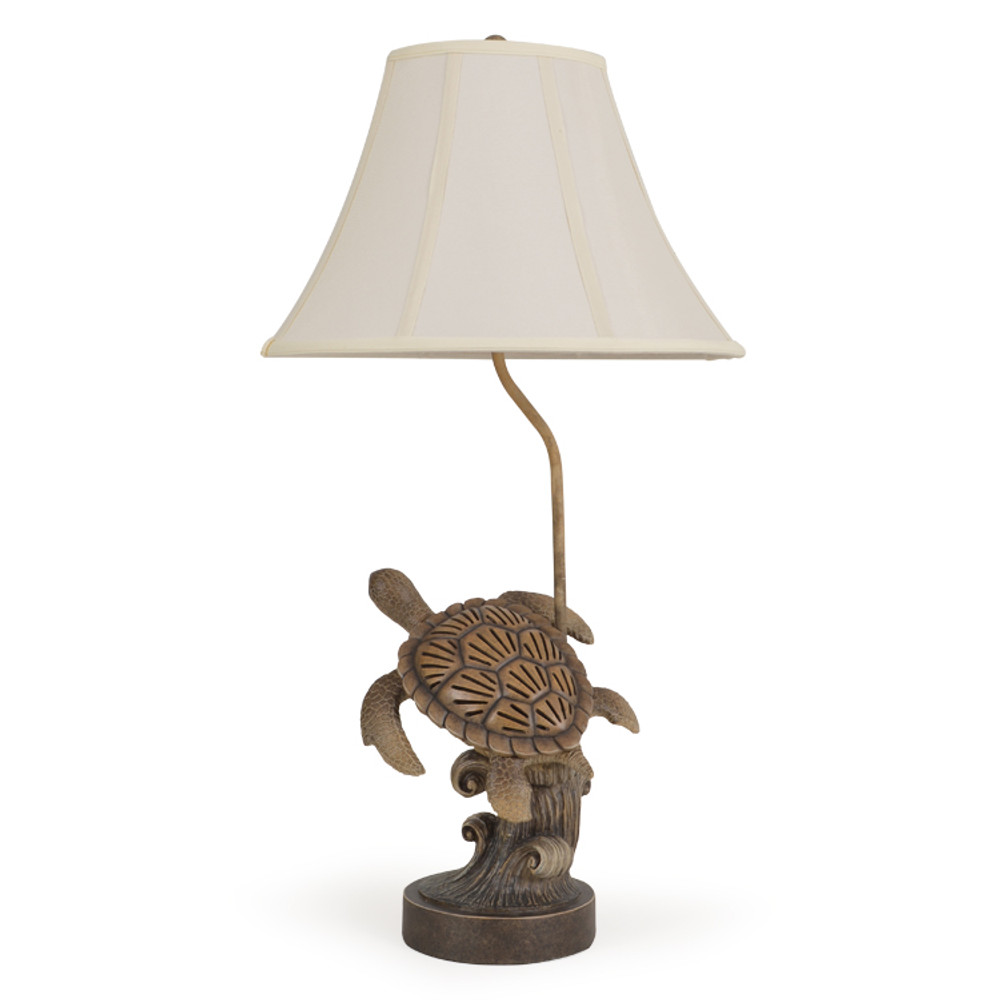 411TL Swimming Turtle Table Lamp w/Night Light