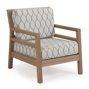 5201 Lounge Chair Weathered Teak Finish