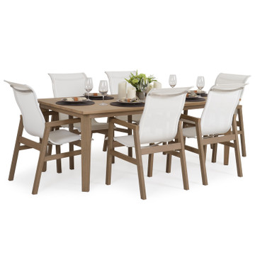 "528040U 80"" x 39.5"" Rectangle Dining Table"