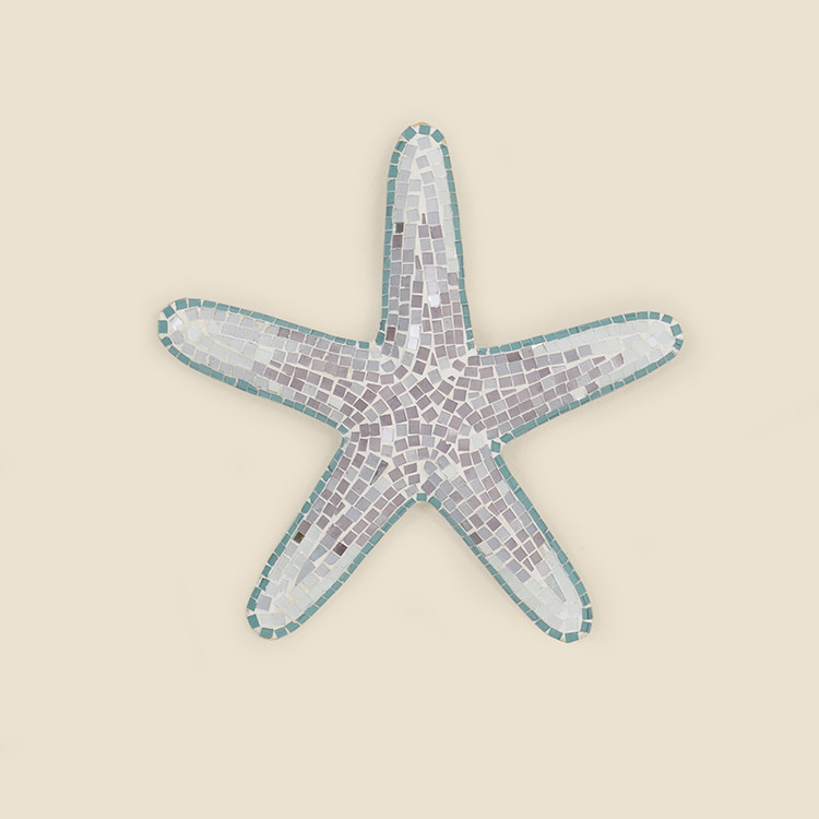 17-066,MD Medium Mosaic Starfish Wall Hanging