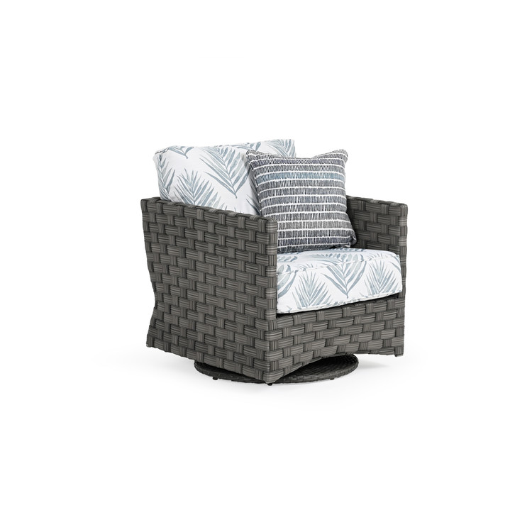 Kenwood Outdoor Wicker Swivel Chair