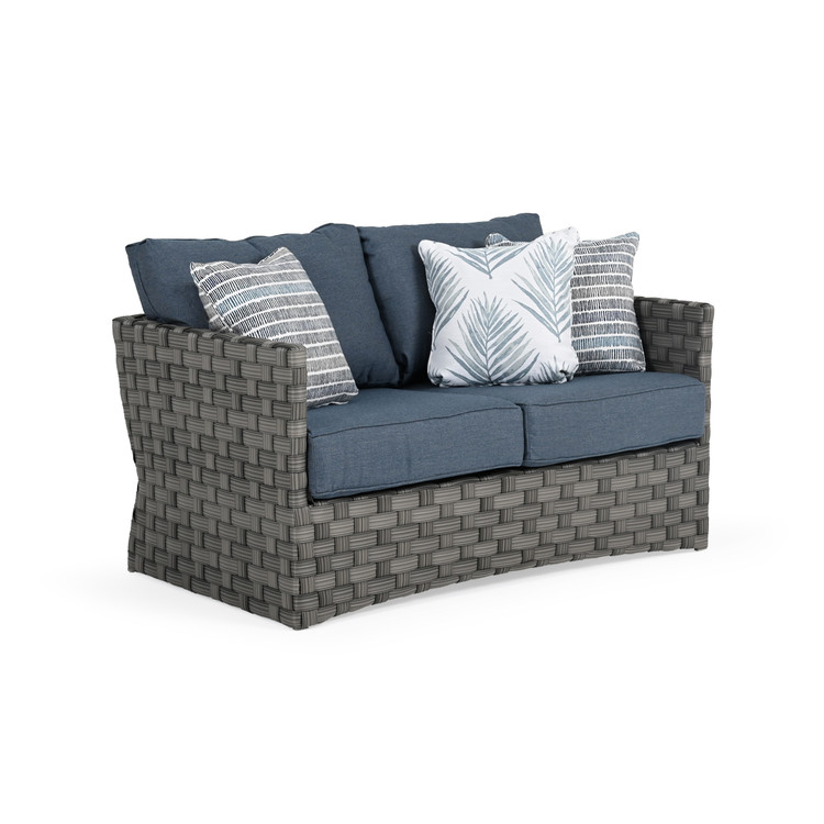 Kenwood Outdoor Wicker Loveseat