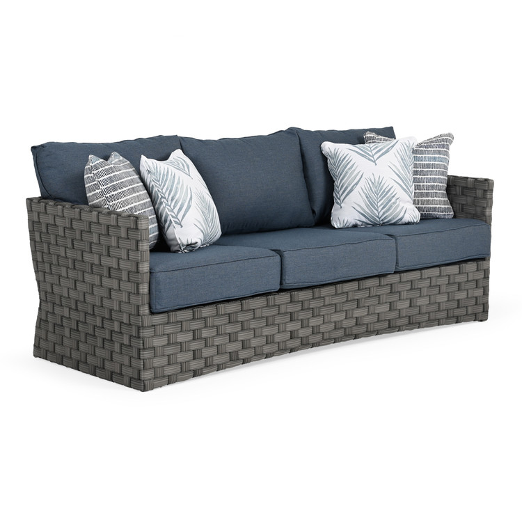 Kenwood Outdoor Wicker Sofa
