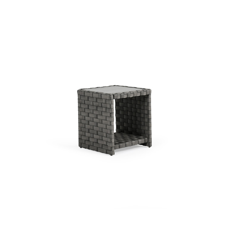 Kenwood Outdoor Wicker End Table