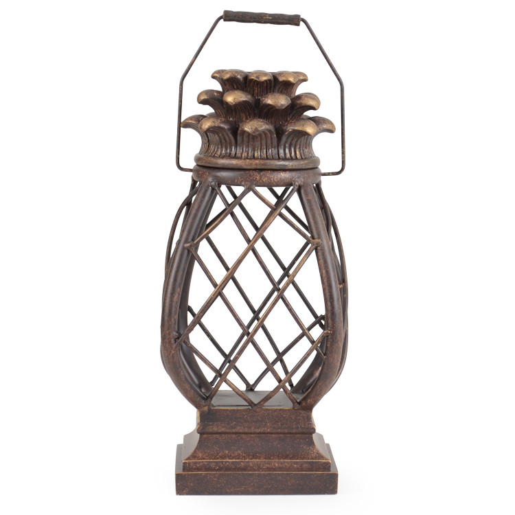 OUT-681LT Pineapple Cage Lantern