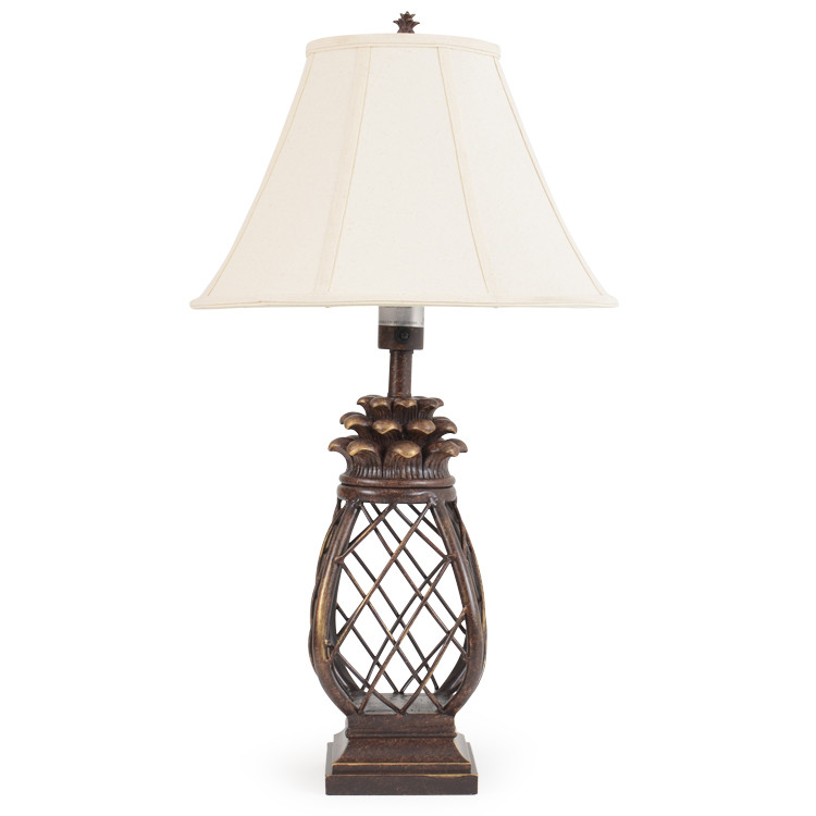 OUT-681TL Pineapple Cage Table Lamp