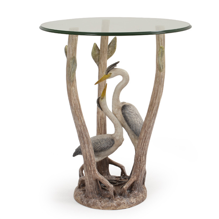 941ST Double Heron Side Table