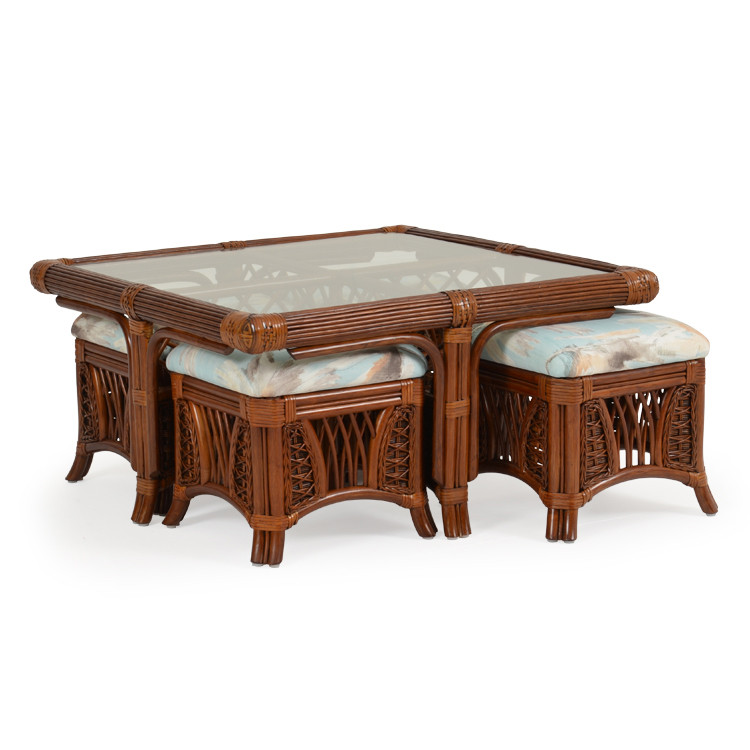"""5428 37.5"""" Square Hassock Table"""