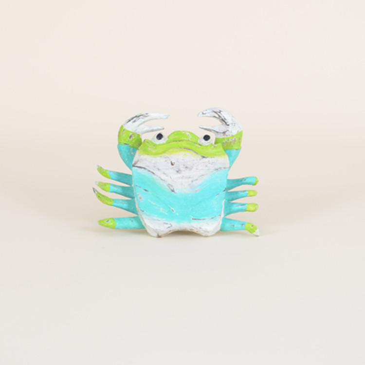 16-133 Small Whimsical Wooden Crab