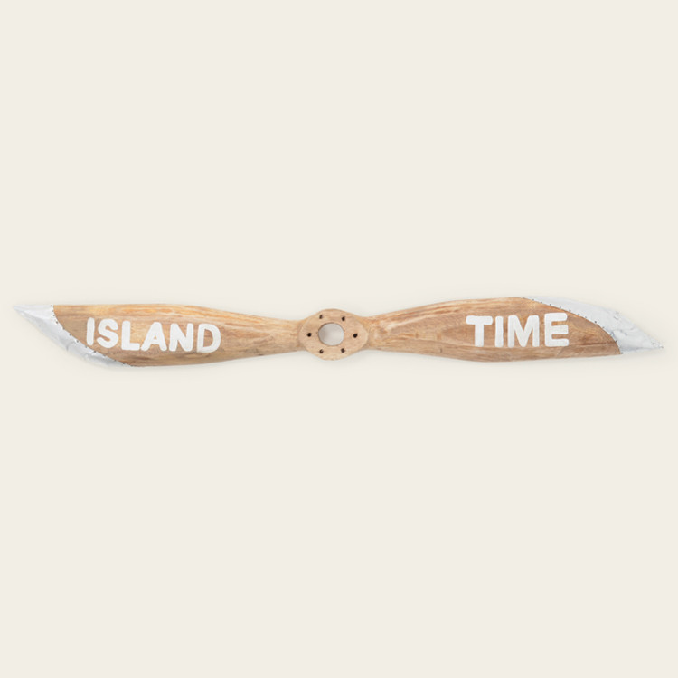 """16-145 """"Island Time"""" Wooden Boat Propeller"""