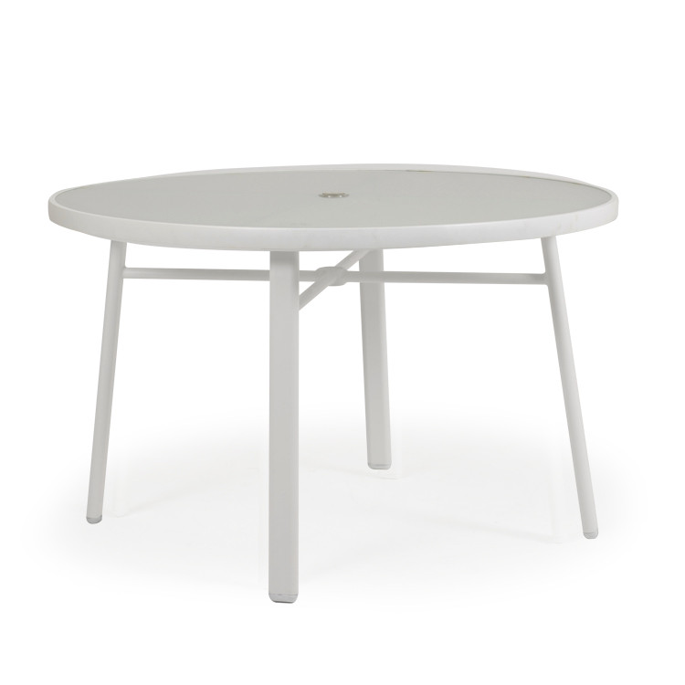 "031850 50"" Round Dining Base with Glass Top"
