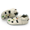 Sandals Dots Cream up to 6 Years