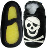 Pirate Black outdoor shoes up to 4 Years Rubber Sole Genuine Leather Baby Toddlers Kids
