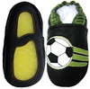 Soccer Black outdoor shoes up to 4 Years Rubber Sole Genuine Leather Baby Toddlers Kids