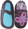 purple butterfly flower Outdoor up to 4 Years Rubber sole Genuine leather Baby Kids Toddlers