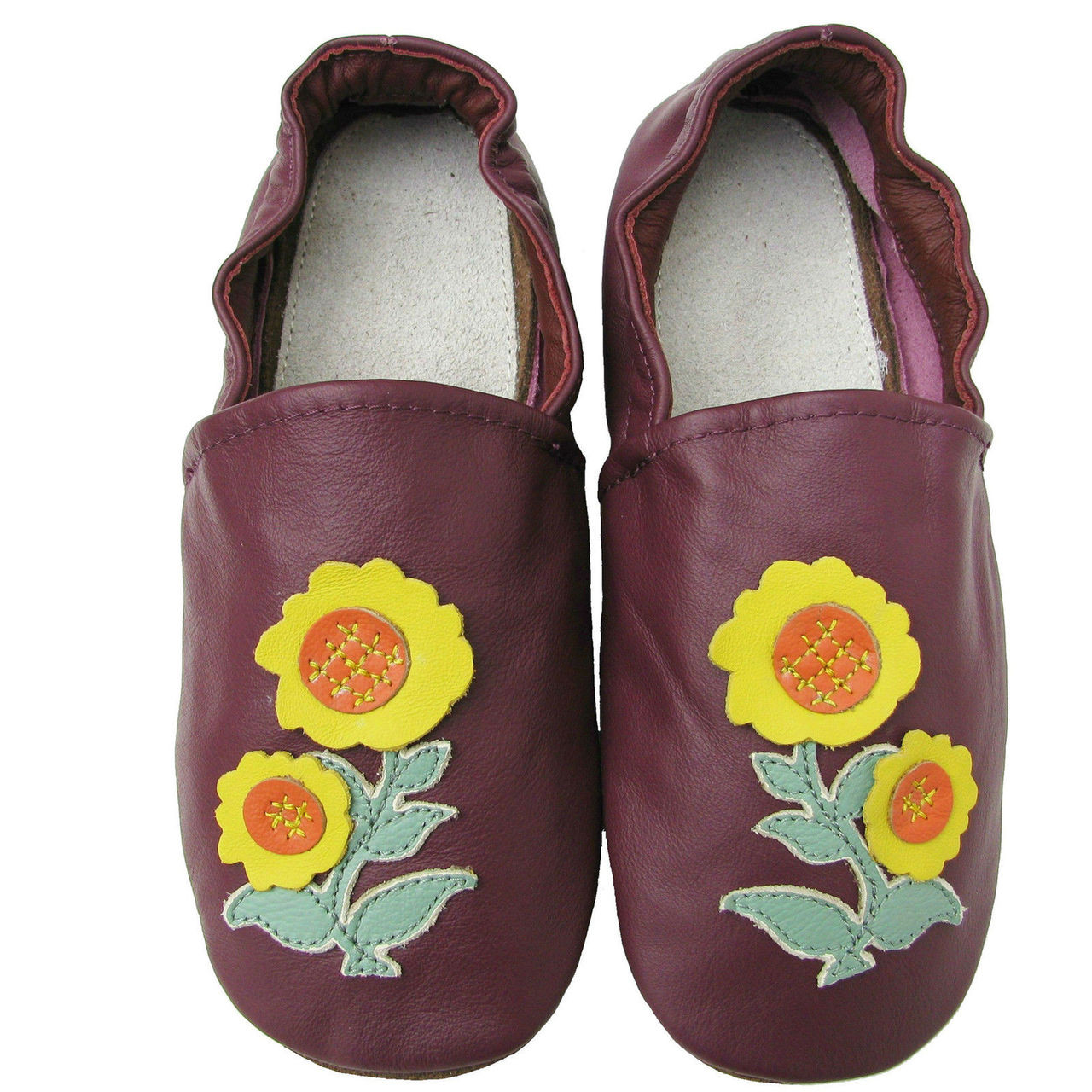 soft sole leather adult shoes