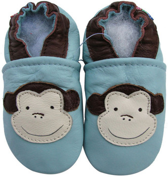 Monkey Light Blue up to 6 Years Old