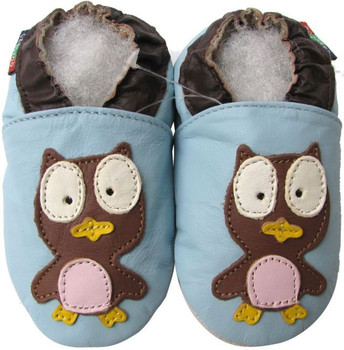 Owl Light Blue S up to 4 Years Old