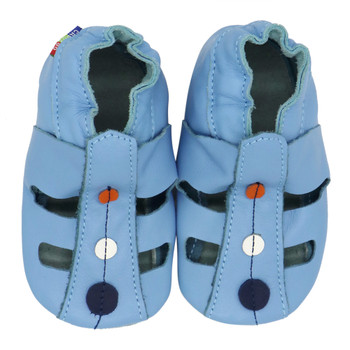 Sandals Dot Light Blue up to 4 Years