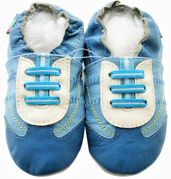 Sneaker Turqoise Blue S up to 4 Years Old