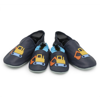 Excavator Dark Blue parent child matching shoes