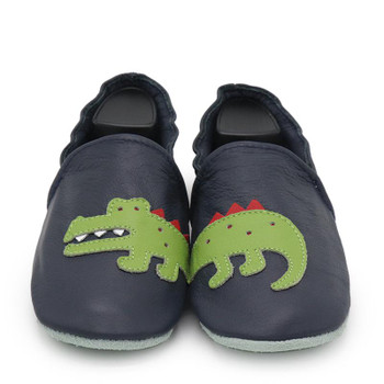 Crocodile Dark blue  Women Slippers