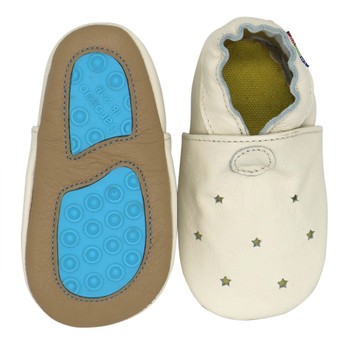 Sandals star cream outdoor up to 4 Years Rubber sole