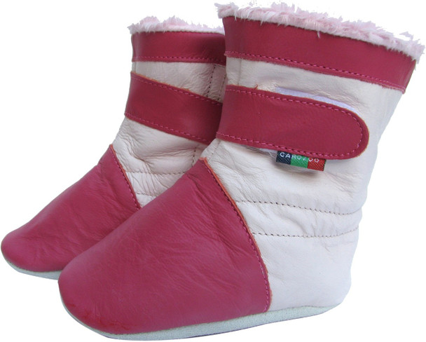 Booties Fuchsia S up to 24 Months