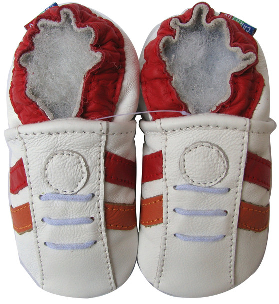 Sports White Red C2 up to 4 Years