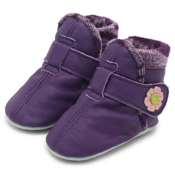 Booties Purple up to 24 Months