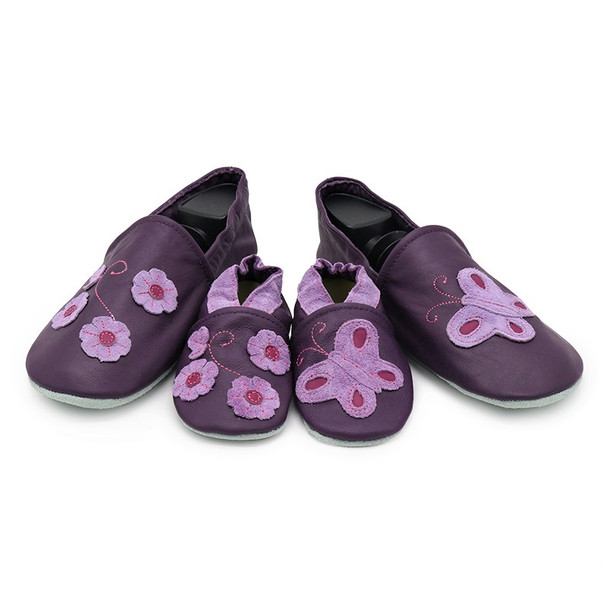 Purple Butterfly Flower Parent-Child Matching shoes