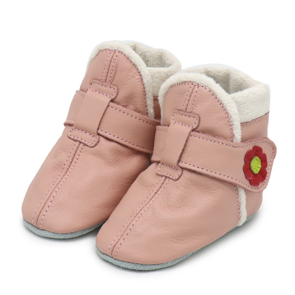 Booties Pink up to 4 Years Old