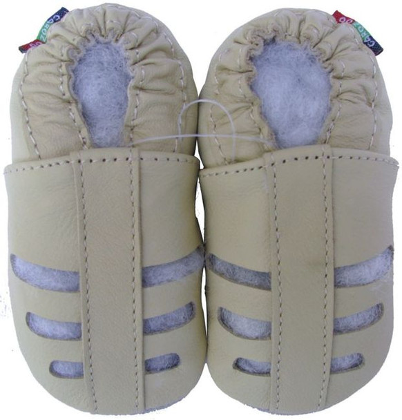 Sandals Cream up to 6 Years Old