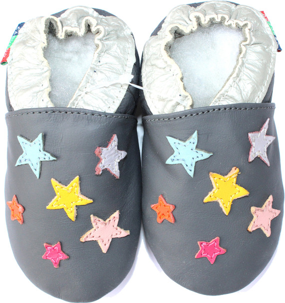 Colorful Stars Grey S up to 4 Years Old