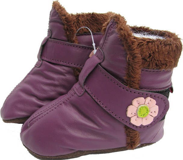 Booties Purple up to 4 Years Old