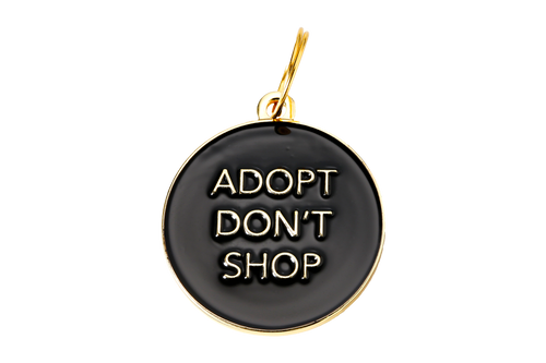 Adopt Don't Shop Pet ID Tag