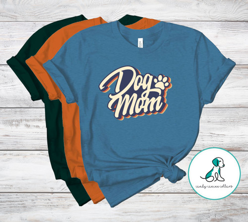 Retro Dog Mom Tee