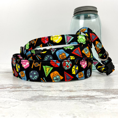 Galaxy Battle Dog Collar