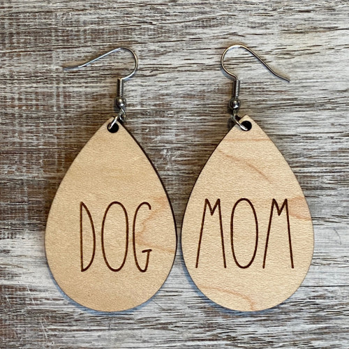 Dog Mom Drop Earrings