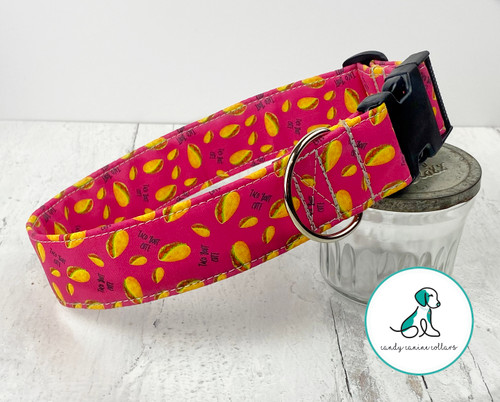 Pink Taco Bout Cute Dog Collar