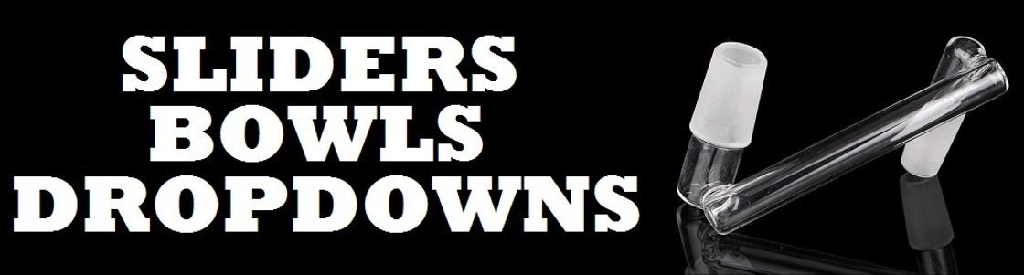 SLIDERS - BOWLS - DROPDOWNS