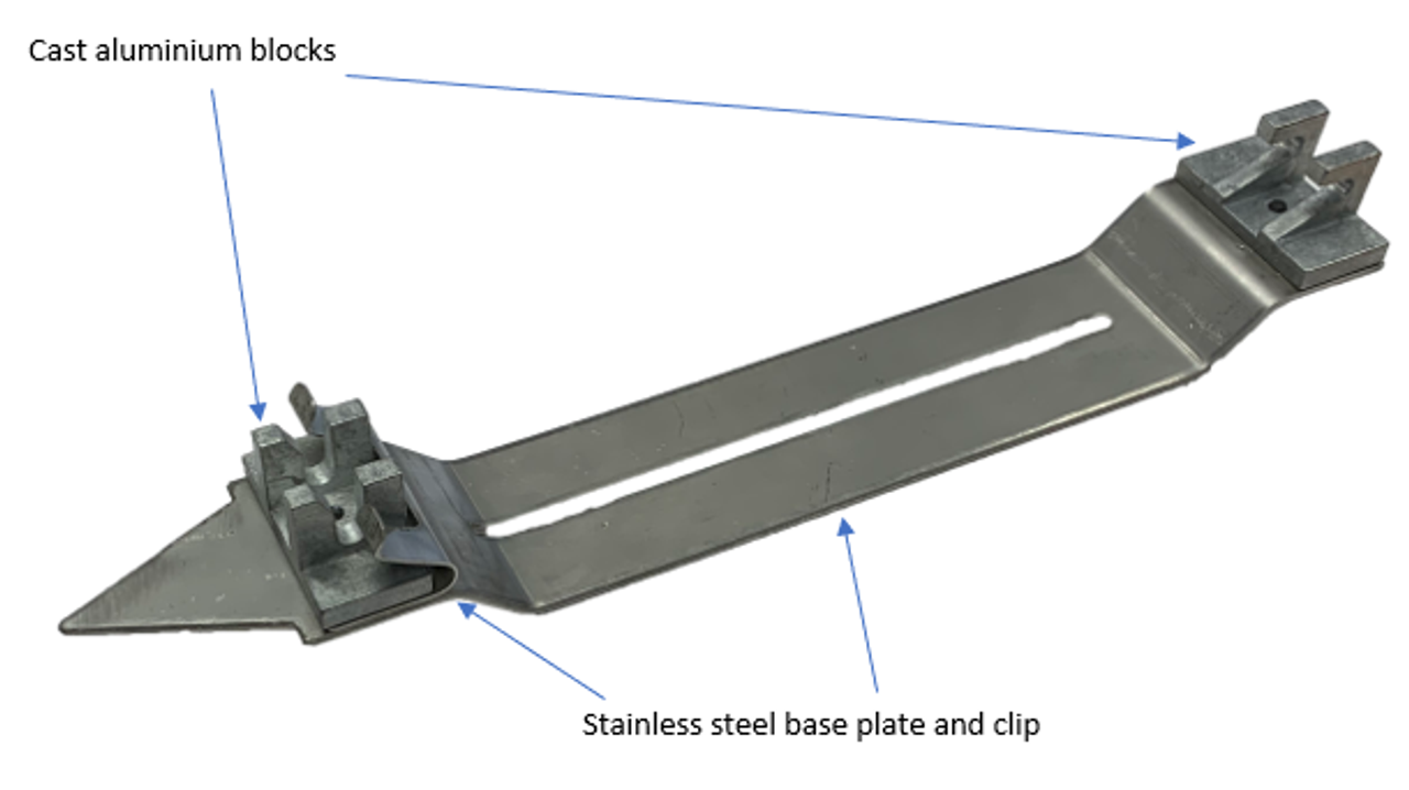 Skid Plate to suit 150mm Early Entry Saw