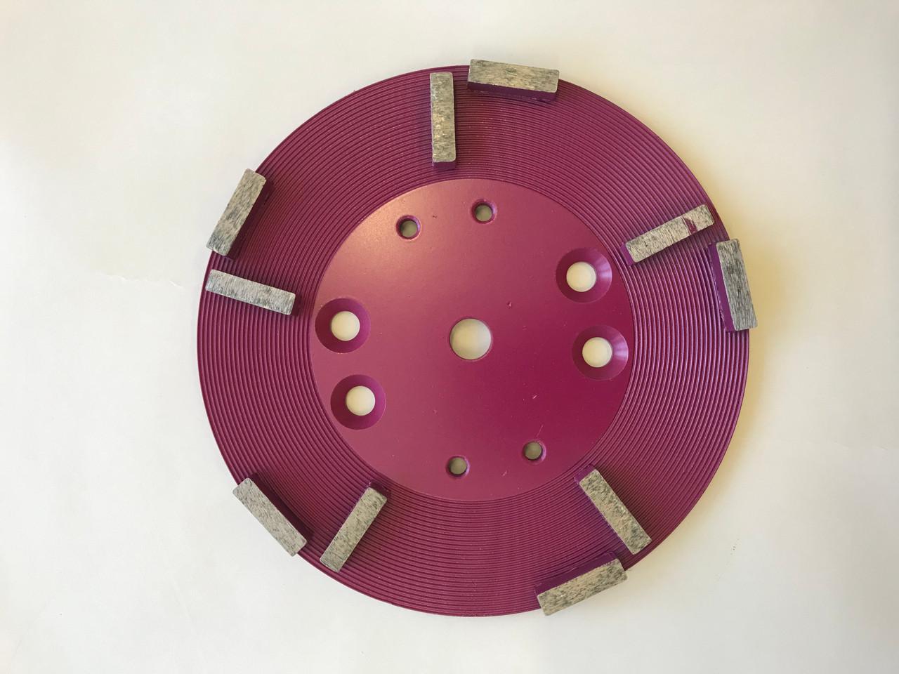Concrete Grinding Disc (250mm( 10 Segment 50/60 Grit for Medium/Fine Grinding